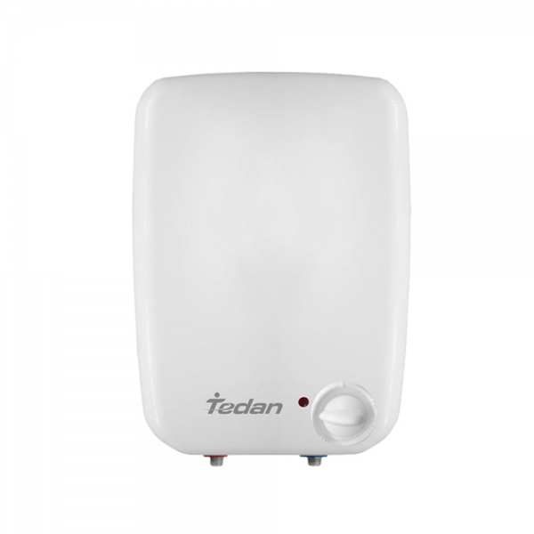 Електрически бойлер Tedan Mini Inox 8 литра за над мивка