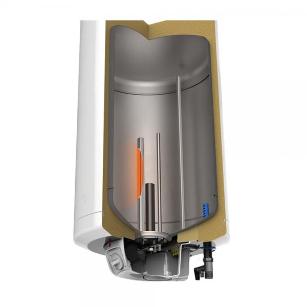 Електрически бойлер Tedan Standard Inox 80 литра със сух нагревател