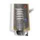 Електрически комбиниран бойлер Tedan Comby Inox 120 литра с дясна серпентина 3 kW