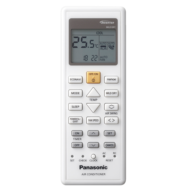 Panasonic CS-XZ25TKE/CU-Z25TKE, 9000 BTU, Etherea Silver, Енергиен клас  A++