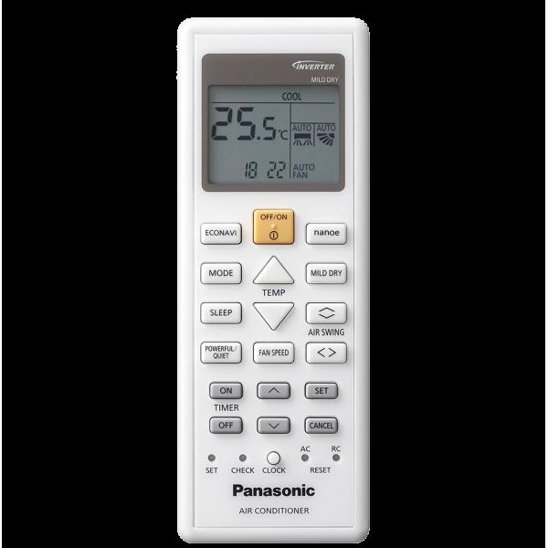 Panasonic CS-Z25TKE/CU-Z25TKE 9000 BTU, Etherea White, Енергиен клас  A++